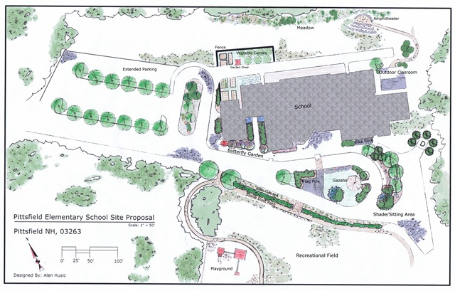 Project Home School Grounds Master Plan | Pittsfield Elementary School