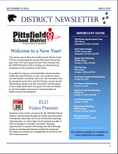 District Newsletter pg1